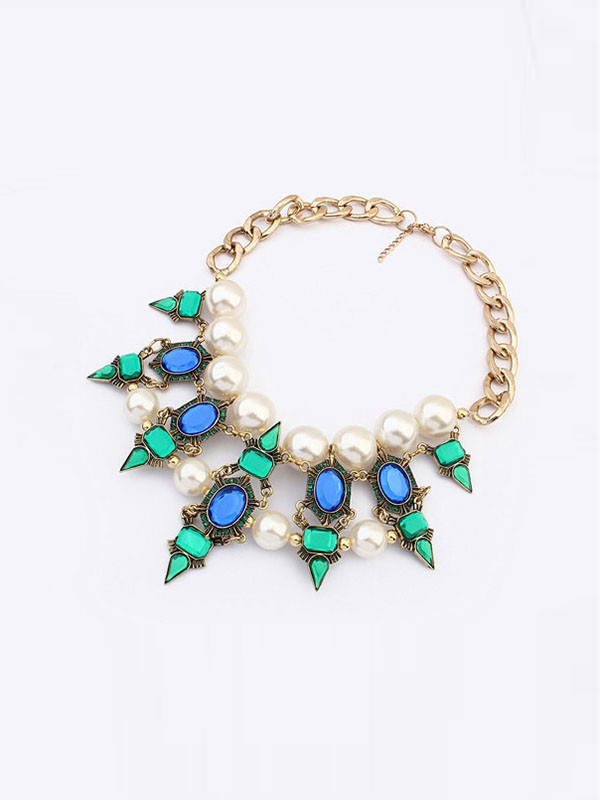 Occident Celebrity Street Shooting Fashionable Hot Sale Necklace