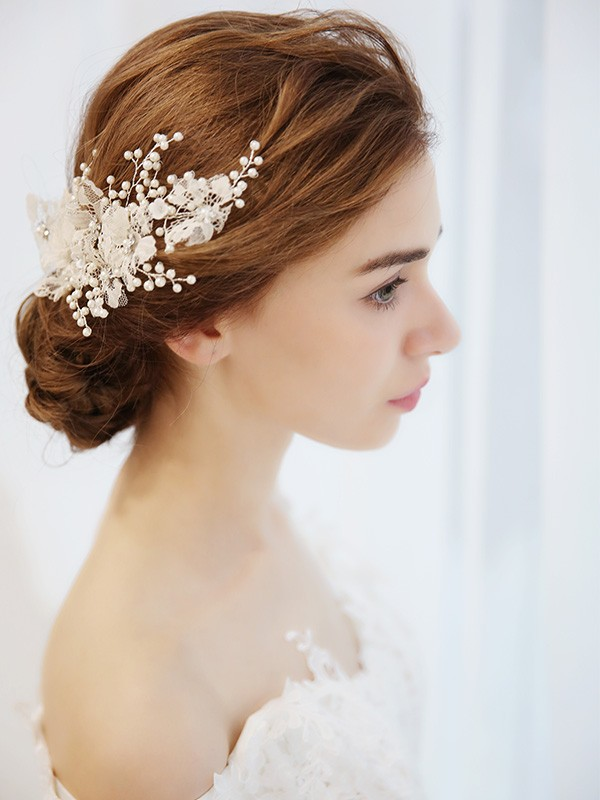 Lovely Imitation pearls Headpieces